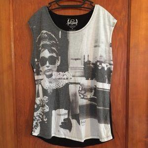 Tops - Audrey Hepburn tank XL