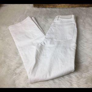 Neil Barrett Pants - Neil Barrett White Designer Jeans.  Sz  26