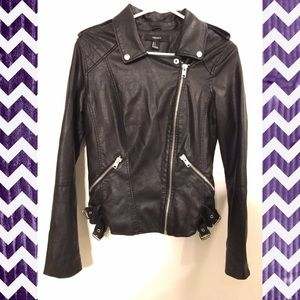 Forever 21 Jackets & Blazers - Forever 21 Moto Jacket