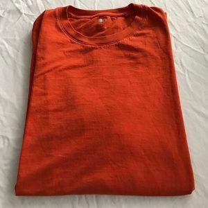 Uniqlo Other - CLEARANCE ** Men's burnt orange UNIQLO tshirt
