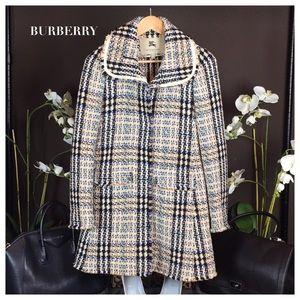 🎉 BURBERRY TWEED COAT