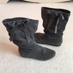 White Mountaineering Shoes - Cute Gray Ankle Booties
