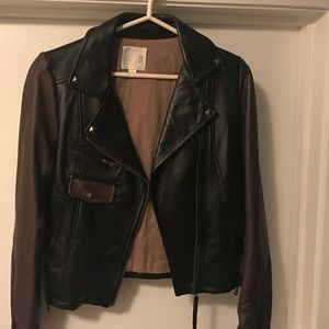 Line & Dot Jackets & Blazers - Leather Jacket