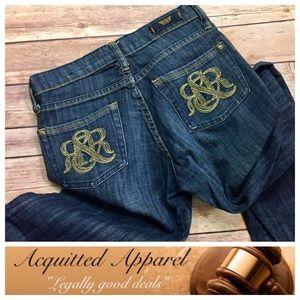 """Rock & Republic Denim - [Rock & Republic] Gold Stitch Jeans 33"""" inseam"""