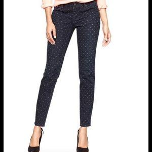 GAP Denim - GAP Always Skinny Polka Dot Skinny Jeans