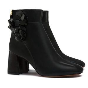 tory burch leather ankle boots on Poshmark