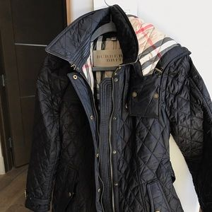Burberry Finsbridge Belted Quilted Jacket *Size XL