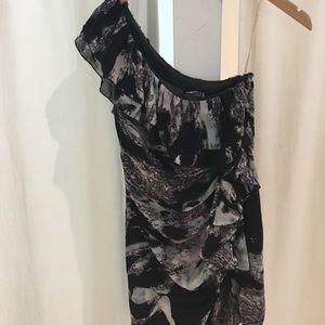 lipsy london Dresses & Skirts - Lipsy London asymmetrical dress, size 6. Reduced!