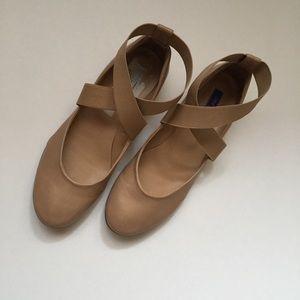Dee Keller - Sandy Crisscross Ballerina Flat