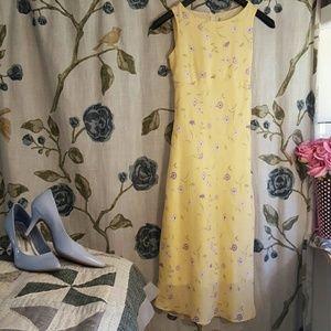 Jayne Copeland Other - Pretty Yellow Dress