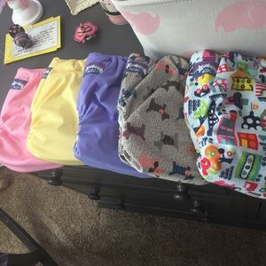 NCDC Other - NCDCo-op Cloth Diapers 5 Piece