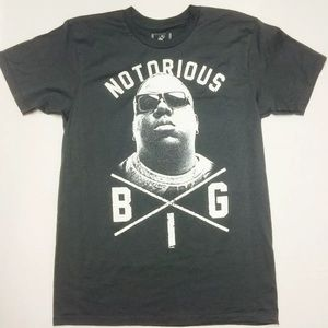 Bioworld Other - BIOWORLD-BIGGIE NOTORIOUS B.I.G CHARCOAL Tee Large