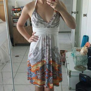 christina love Dresses & Skirts - Paisley Printed Halter Dress