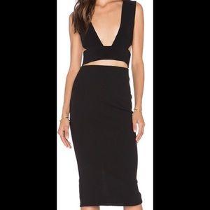 Solace London black dress UK 8