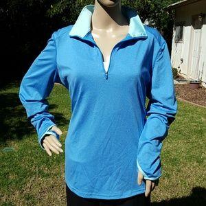 Danskin Now Jackets & Blazers - Danskin Now Blue Jacket
