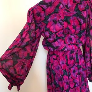 Vintage Dresses - Beautiful Vintage Floral Dress