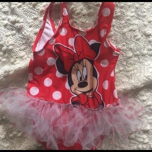 Disney Other - NWOT Minnie Mouse 🐭 Bathing suit one piece