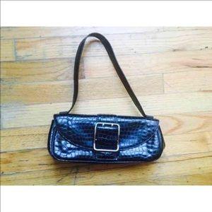 Nicole Miller Handbags - Nicole Miller Croc black Croc Purse