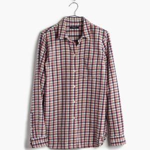 Madewell Tops - 30% OFF BUNDLES Madewell Shirt in Palma Plaid EUC