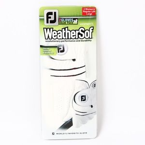 FootJoy Accessories - WeatherSof by FootJoy Golf Gloves Women's Size Lrg