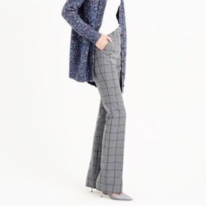 J. Crew Preston Pant in Windowpane Plaid