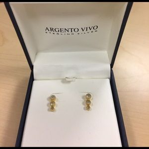 Argento Vivo Jewelry - NWOT Argento Vivo Sterling Silver Earrings