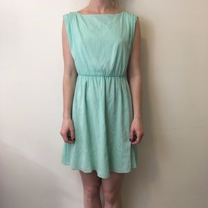 Alice + Olivia Dresses & Skirts - Alice + Olivia Mint Green Cut Out Skater Dress