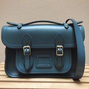 The Cambridge Satchel Company Handbags - THE MINI SATCHEL WITH MAGNETIC CLOSURE IN LEATHER
