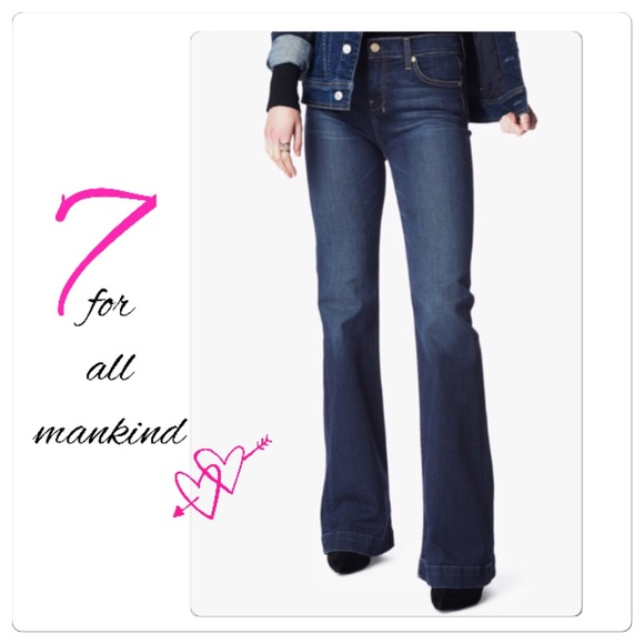 88 off 7 for all mankind denim sale 7 for all mankind dojo jeans from pretty in pink. Black Bedroom Furniture Sets. Home Design Ideas
