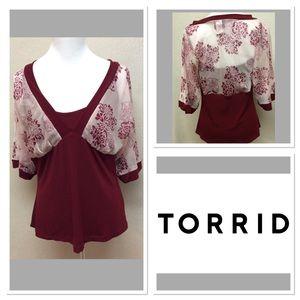 torrid Tops - 0 (12) TORRID blouse