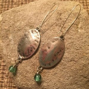 Jewelry - Handcrafted silver tone dangles.