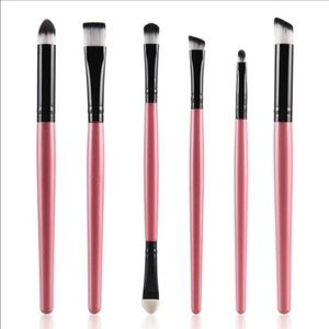 Other - 6 PCS Pink Makeup Brushes