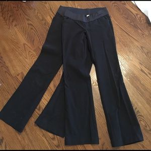 Old Navy Pants - 2 pairs of bootcut maternity black pants
