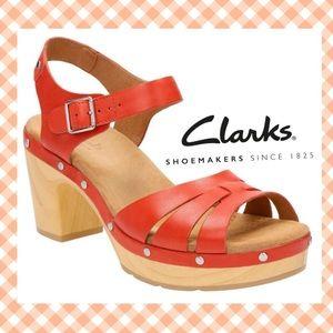Clarks Shoes - Darling Clarks Ledella Leather sandals