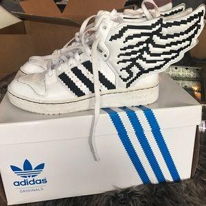 Jeremy Scott x Adidas Shoes - Jeremy Scott wing shoes size 7.5 men's 9.5wo