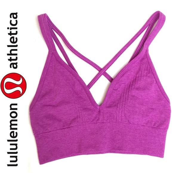 08d4e0ce4b lululemon athletica Tops - Lululemon Strappy Deep V-Neck Sports Bra