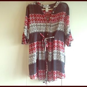 American Rag Sheer Dress