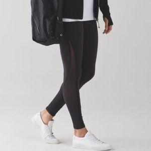 lululemon athletica Pants - Lululemon Deep Breath Black Yoga leggings pant sz4