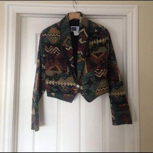 Vintage Southwestern style blazer