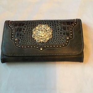 Blazin Roxx Handbags - Western Wallet Chocolate Brown  NWT