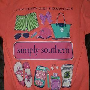 simply southern  Tops - Tee shirt