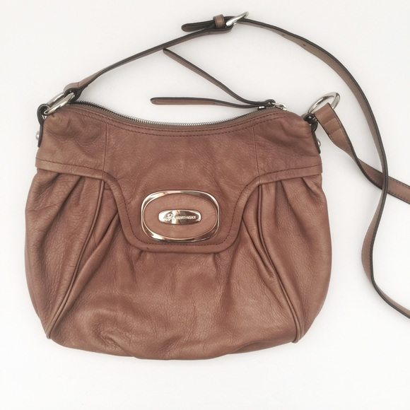 b. makowsky Bags   B Makowsky Tan Leather Bag   Poshmark 1304446cf5