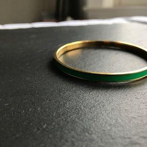 KATE SPADE | kelly green bangle