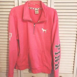 PINK Victorias Secret Half Zip
