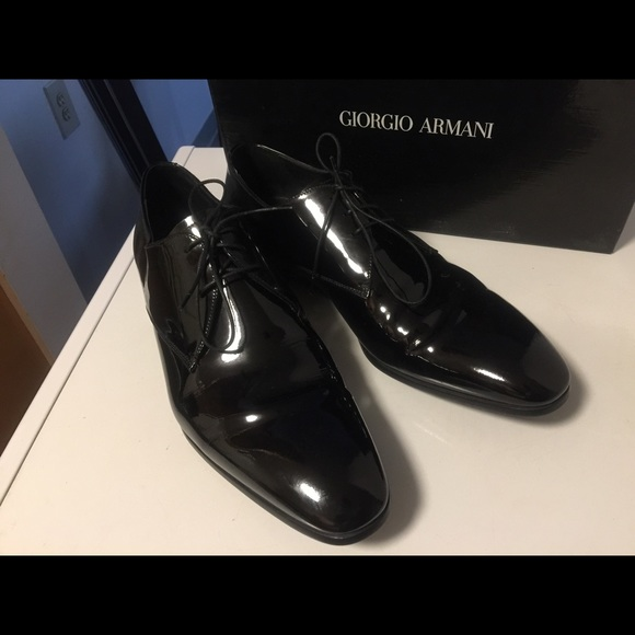 giorgio armani men's leather shoes - 54