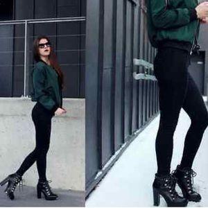 💐HOST PICK!💐 Zara Platform Ankle Boots