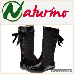Naturino Other - KIDS!! Naturino Quilted Waterproof Boot/Blk/30