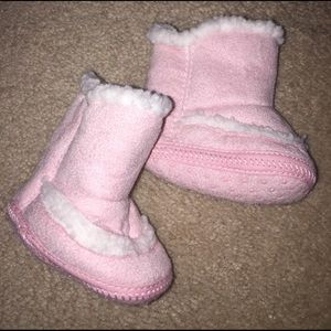 Other - Infant booties, fleece lined