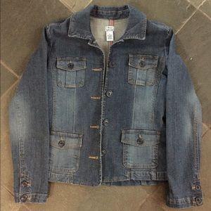 Bass semi fitted denim jacket