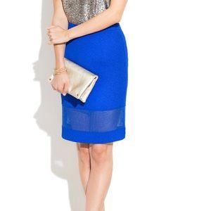 Sugar Lips Dresses & Skirts - Cute Royal blue Pencil skirt